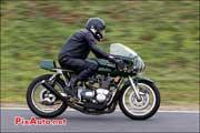 16e Trophee Coluche, circuit Carole, Triumph Rickman 750