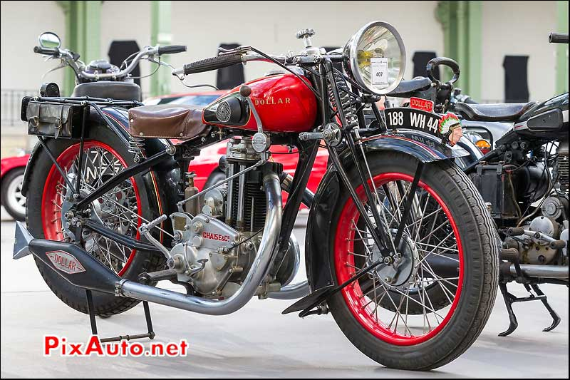 moto Dollar 500cc S3, presentation Bonhams grand palais