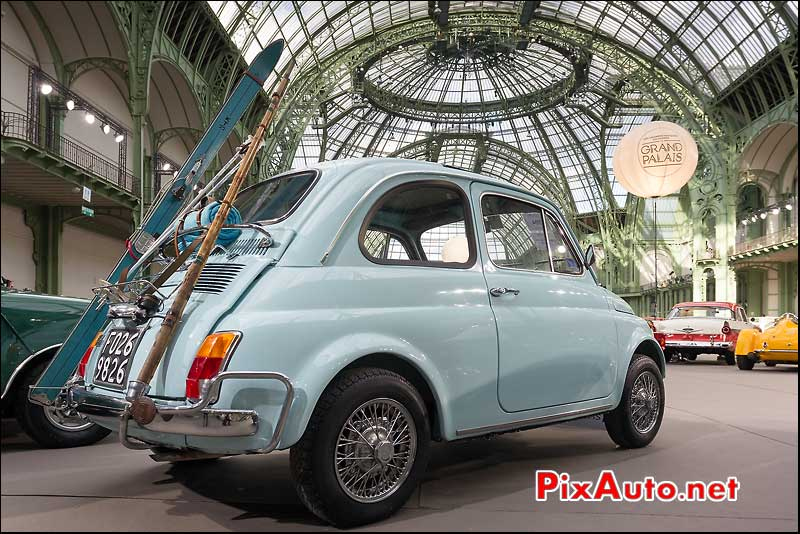 fiat 500, exposition bonhams grand palais