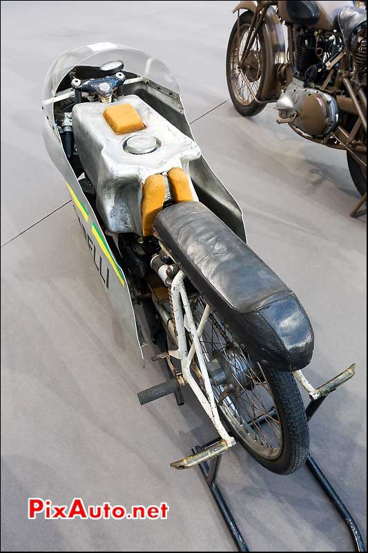 Garelli 50cc record Monza, presentation Bonhams grand palais