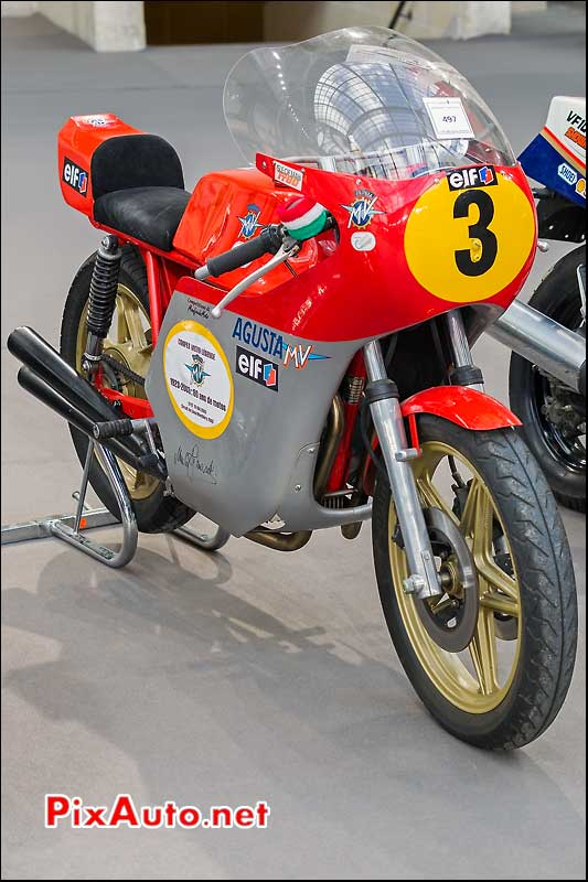MV Agusta 350cc, exposition Bonhams grand palais