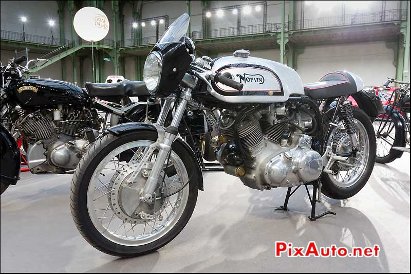 cafe-racer Norvin, exposition Bonhams grand palais