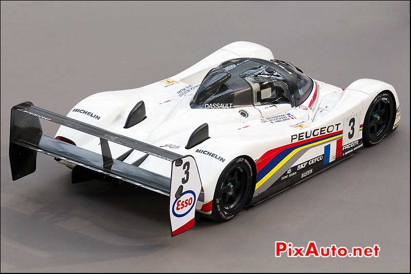 prototype peugeot 905 , presentation bonhams grand palais