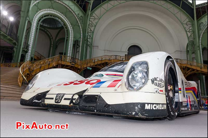 peugeot 905, presentation bonhams grand palais
