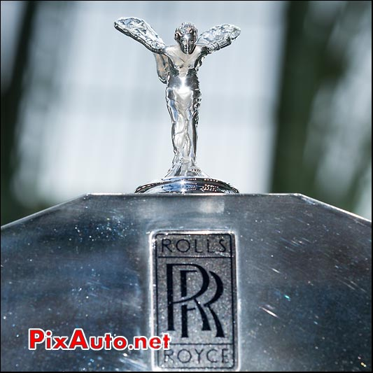 Spirit of ecstasy Rolls Royce, presentation Bonhams