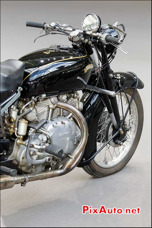 Vincent 998cc C-Rapide, exposition Bonhams grand palais