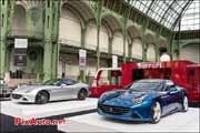 nouvelle Ferrari California-T, Grand Palais, Tour Auto 2014