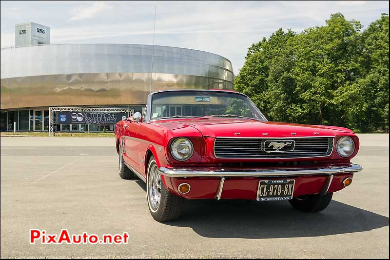 Ford Mustang Cabriolet, Autodrome Heritage Festival