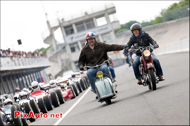 Gloobyscoot 125, Autodrome Heritage Festival