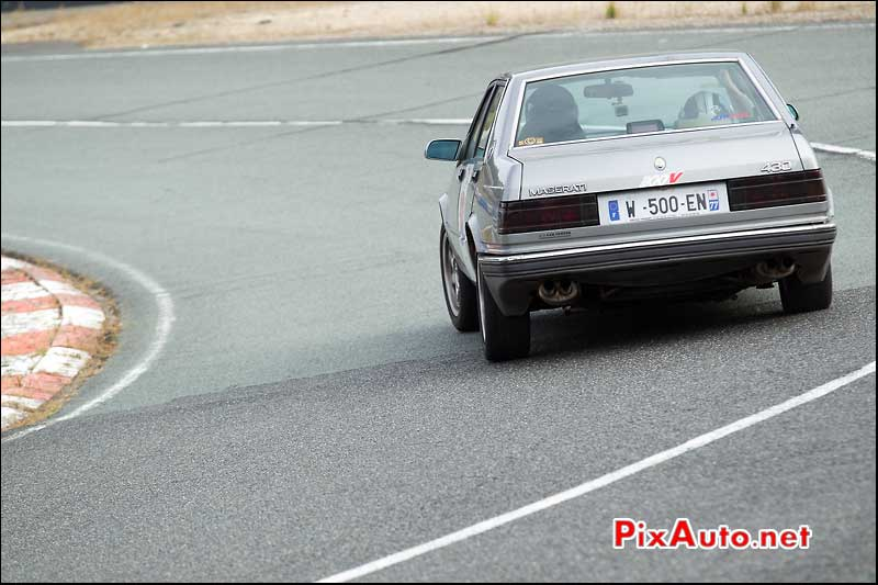 Autodrome Italian Meeting, Berline Maserati 430