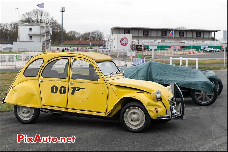 Citroen 2cv James Bond, Coupes de Printemps