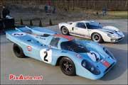 Porsche 917k Gulf et Ford GT40, Coupes-de-Printemps 2014,