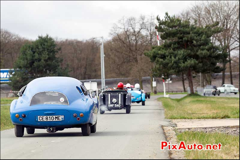 DB Panhard HRB5 de 1958, Coupes de Printemps