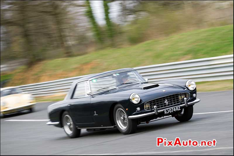 Ferrari 250GT, virage de la Ferme, Coupes-de-Printemps 2014