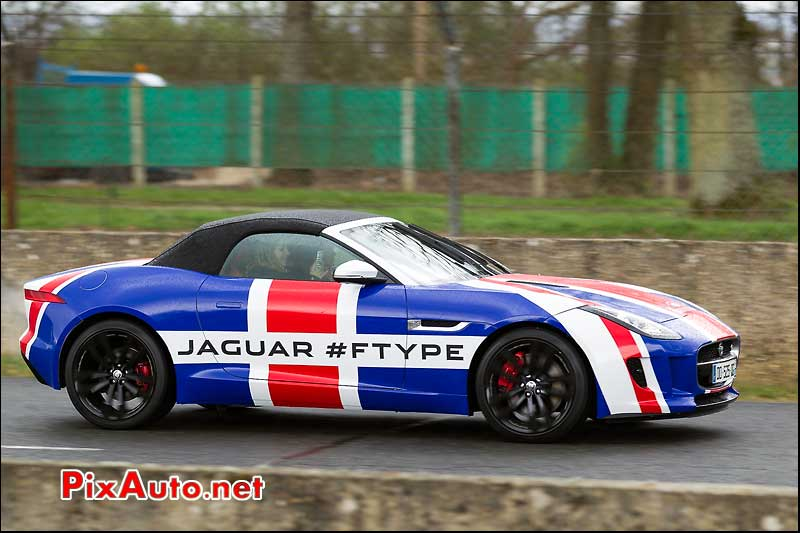 Jaguar F-Type Union Jack, Coupes de Printemps 2014