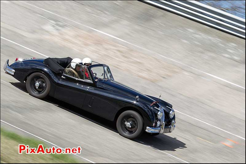 Jaguar XK120 Roadster, Coupes de Printemps 2014