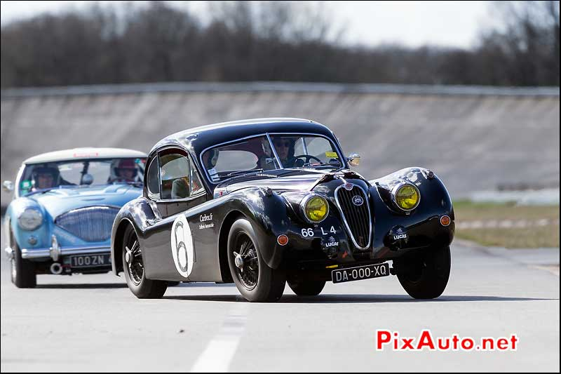 Jaguar XK140 Coupe, Coupes de Printemps