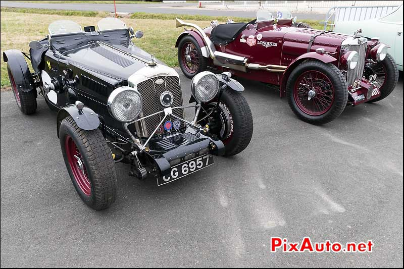 Wolseley Honet Special And MG TA, Coupes de Printemps