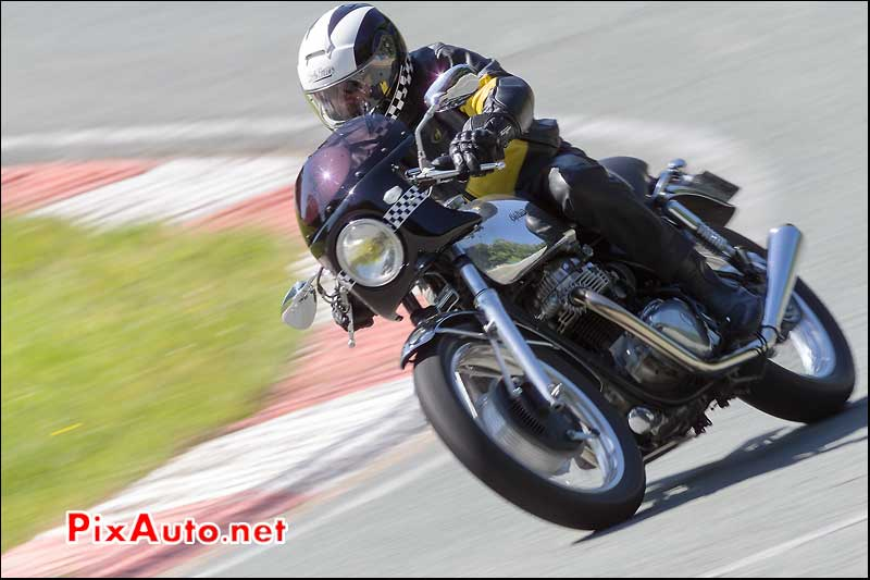 Cafe Racer Contemporain Epingle du Faye, Circuit Linas-Montlhery