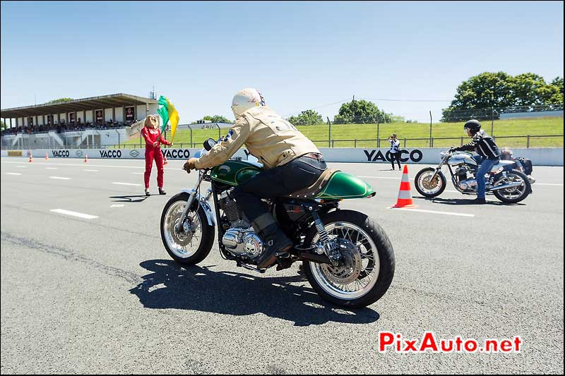 Depart Sprint Professionnels, Cafe Racer Festival 2014
