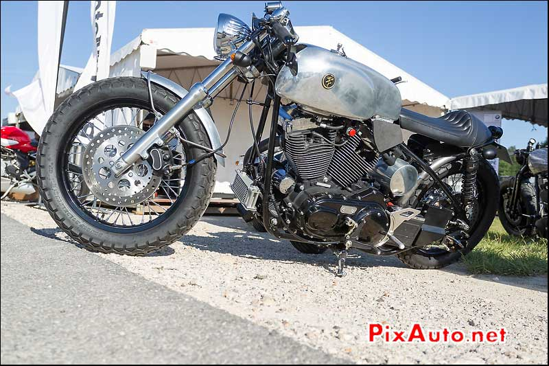 Prepa Absolute Cycles Harley Davidson, Cafe Racer Festival 2014