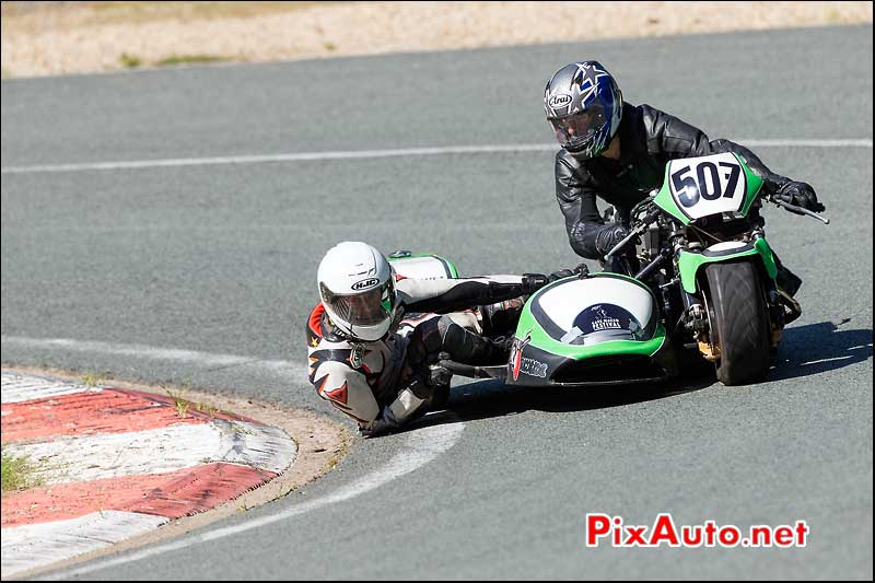 Side Car 4 Cylindres, Circuit Linas-Montlhery