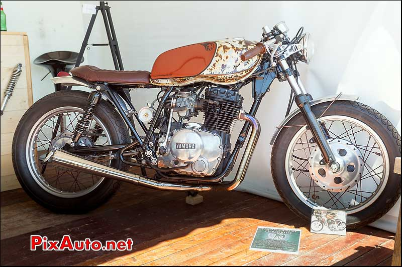 Yamaha 400XS Hoodride French-Monkeys, Cafe Racer Festival 2014