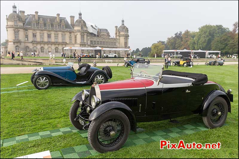 Chantilly Art et Elegance, Bugatti T23 Roadster