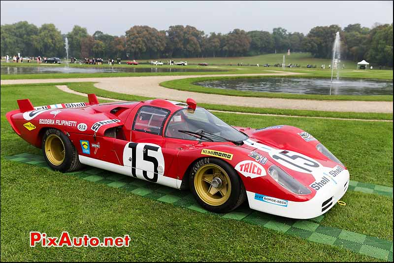 Chantilly Art et Elegance, Ferrari 512S #1016