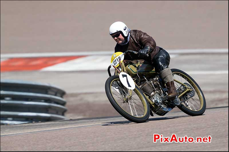 C218 Harley Davidson 1000 Racer 1918, Coupes Moto Legende