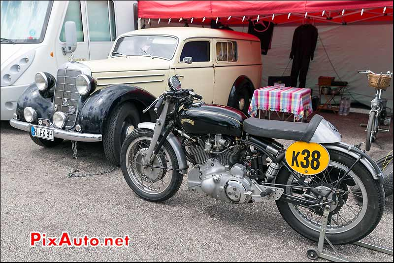 F611 Vincent 1000 Rapide, Coupes Moto Legende