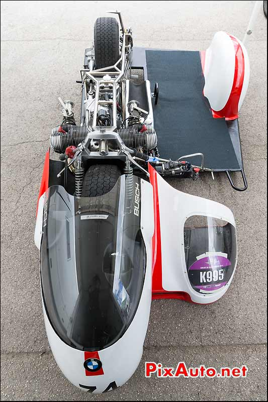 K995 Side-car Busch Bmw, Coupes Moto Légende 2014