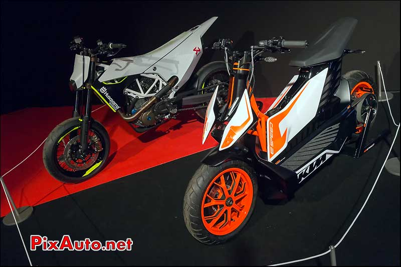Concept Bikes Ktm et Husqvama, 29e Festival-Automobile-International