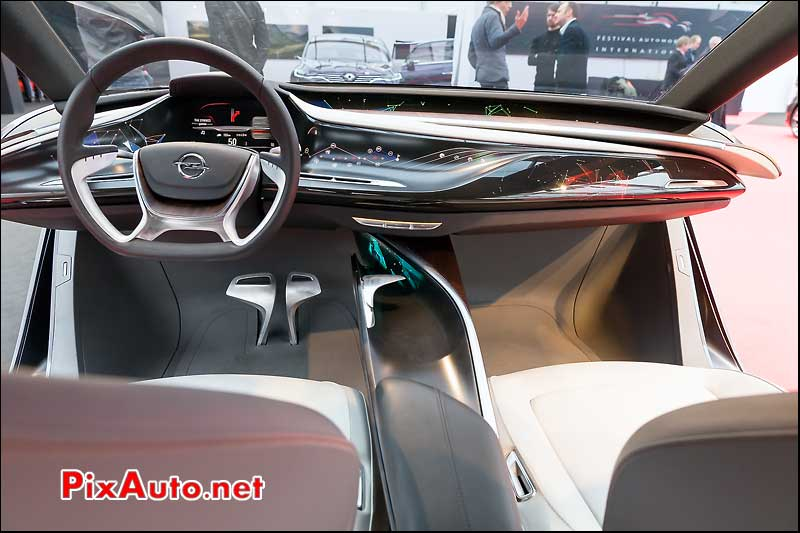 Opel Monza Concept Interieur, 29e Festival-Automobile-International