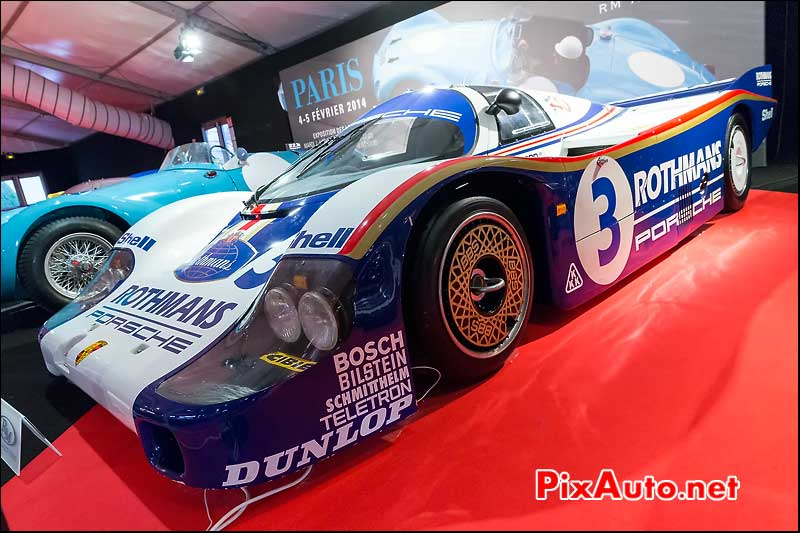 Porsche 956 Rothmans, collection Peter Harburg, Expo RM Auctions