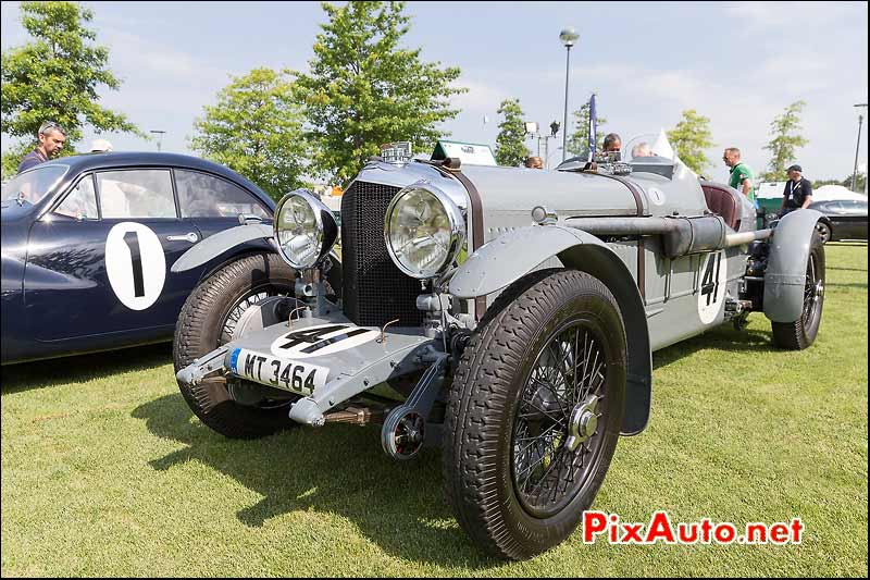 Bentley Speed 6 old n1, Le Mans Classic