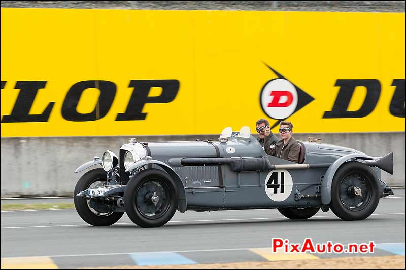 Bentley Speed 6 Old No 1, Le Mans Classic