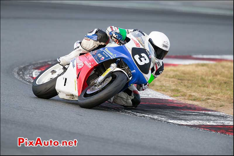 Bol dOr Post Classic, Colliaux Benjamin Honda RC30 N3