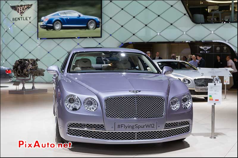 Mondial Automobile, Bentley Flying Spur W12