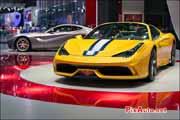 Mondial de lautomobile, nouvelle Ferrari 458 Special A