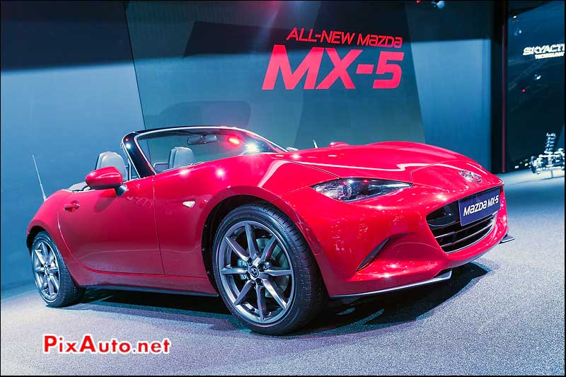 Mondial Automobile Paris 2014, Mazda MX 5