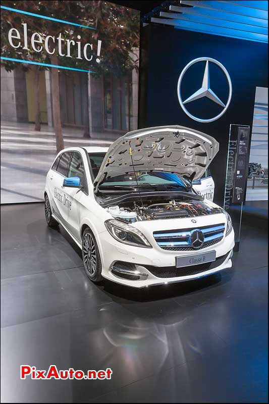 Mondial Automobile Paris, Mercedes Classe B Electric-Drive