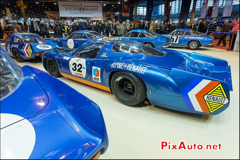 Alpine A222 V8 3L, salon retromobile 2014