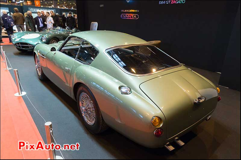 Aston Martin DB4GTZ, Salon Retromobile 2014