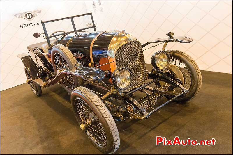 Bentley 24h Du Mans 1924, salon retromobile 2014