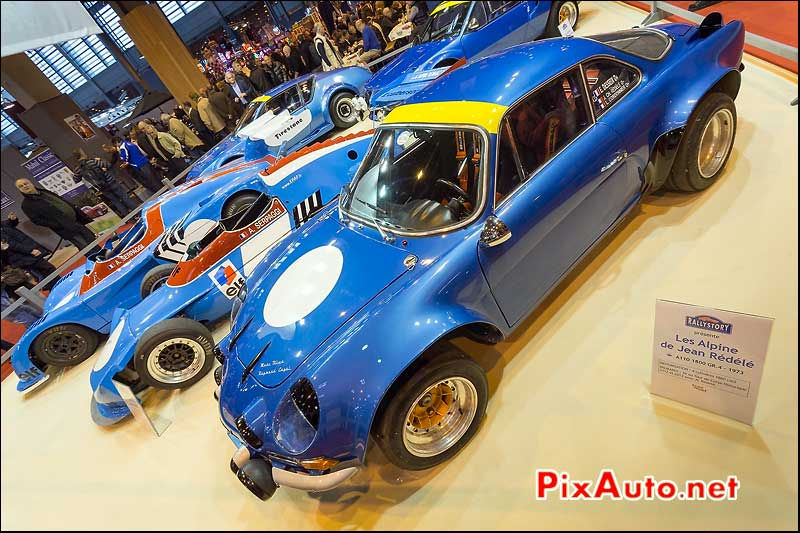 Alpine A110 1800 GR4, salon retromobile 2014