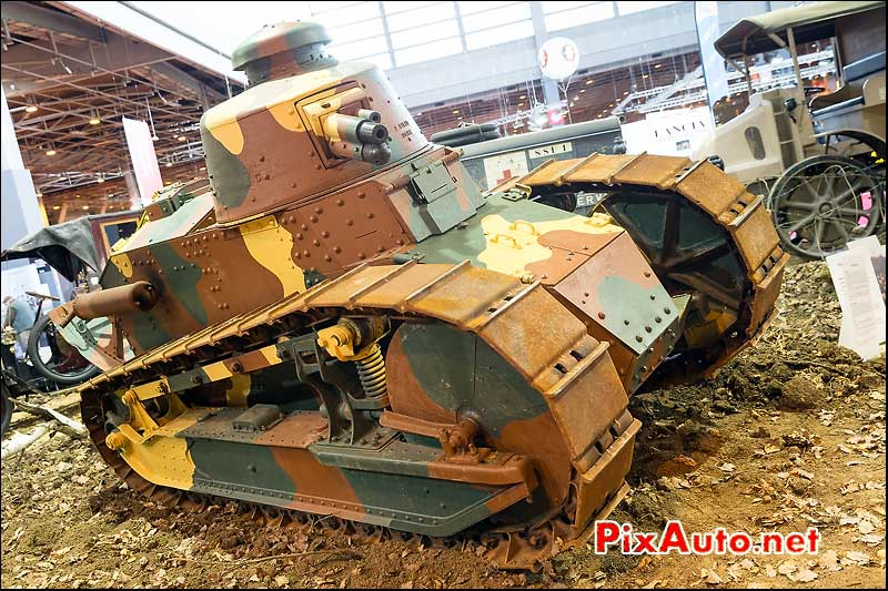 Char Renault FT17, salon retromobile 2014