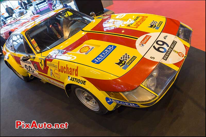 Ferrari 365BTB/4 Ecurie Francorchamps, salon retromobile 2014