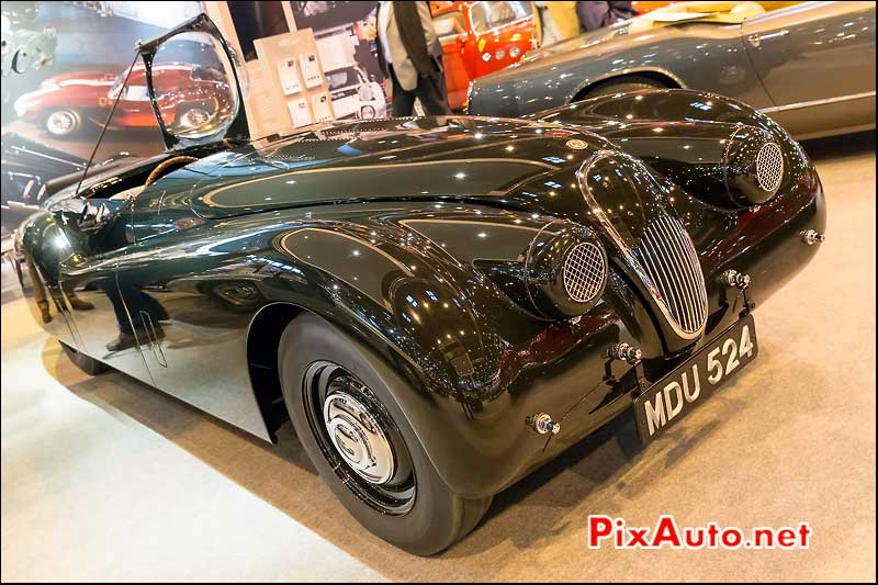 Jaguar XK120 Bubble Car, salon retromobile 2014