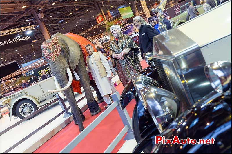 voitures de Maharadjas, salon retromobile 2014